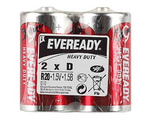 Батарейка Energizer Eveready R20 Heavy Duty
