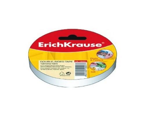 Клейкая лента двусторонняя 12*10 мм ErichKrause