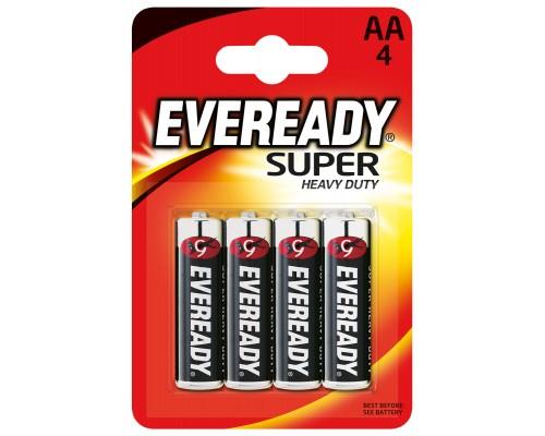 Батарейка Energizer Eveready R06-4BL Heavy Duty