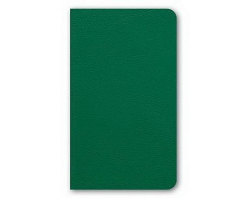 Бизнес-блокнот А6 72 листа интегральный MAJESTIC Зеленый