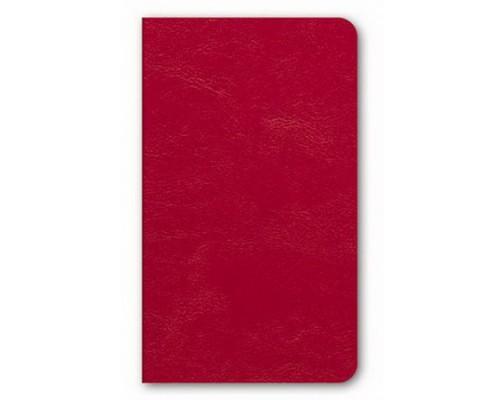 Бизнес-блокнот А6 72 листа интегральный SARIF Красный