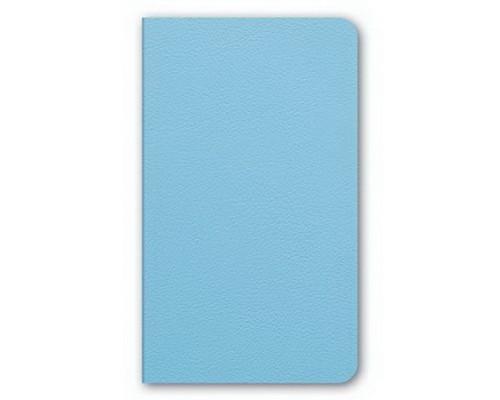 Бизнес-блокнот А6 72 листа интегральный MAJESTIC Голубой