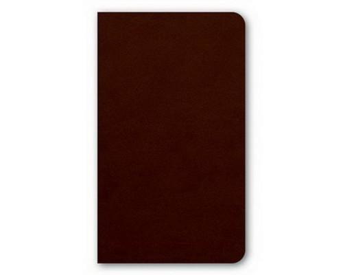 Бизнес-блокнот А6 72 листа интегральный VIVELLA Темный коньяк