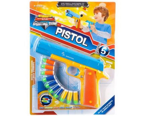 Оружие Пистолет, стреляет пульками 32см.447-15
