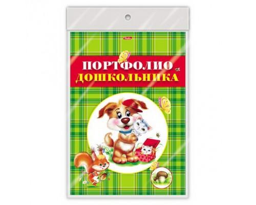 Портфолио для дошкольников 8 листов А4 Картон-Лохматики в пакете