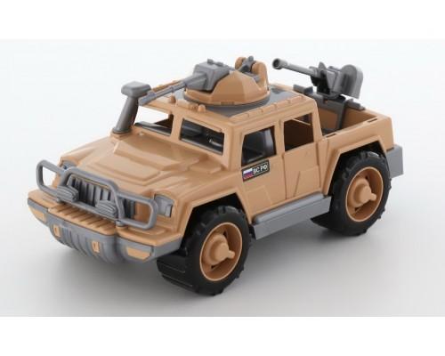 Автомобиль-пикап военный Защитник-Сафари с 2-мя пулемётами