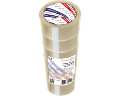 Клейкая лента 48ммx32м Attomex прозрачная 38 мкм