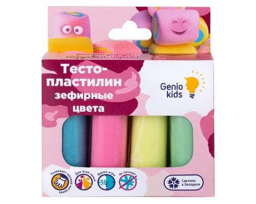 """Набор для детской лепки """"Тесто-пластилин 4 цвета. Зефирные цвета"""""""