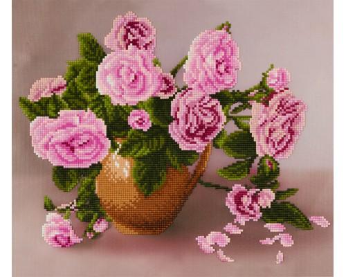 """Алмазная мозаика """"Розы"""" 30 х 35 см"""