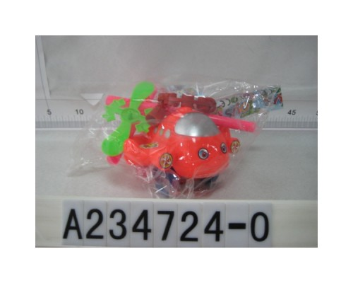 Каталка САМОЛЕТ с тростью, цвет в ассорт.A234724-O