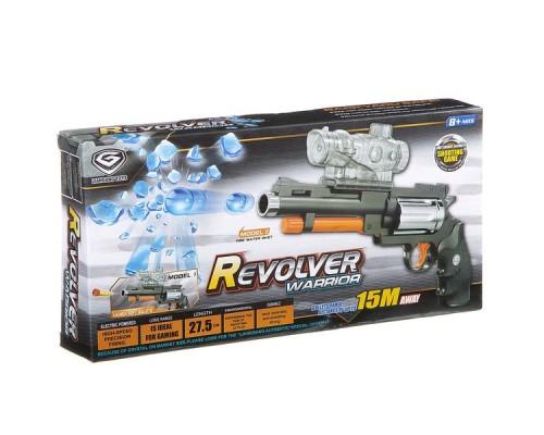 Револьвер с прицелом, стрел. водн. шариками